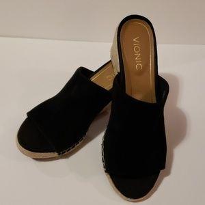 VIONIC Kadyn Espadrille Wedge Sandals size 8.5